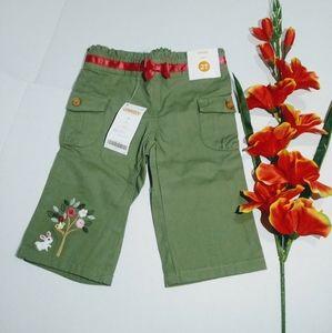 Gymboree capri toodler shorts